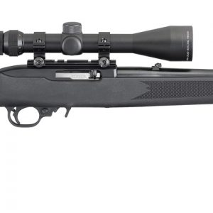 Ruger 10/22 Black Synthetic Scope Combo