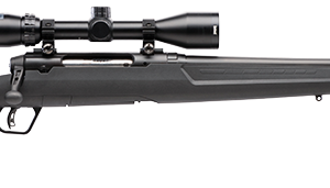Savage Axis II XP Black Synthetic Stock, Accu-Trigger,  c/w  Bushnell 3-9X40mm Scope