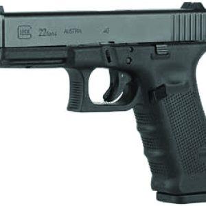 Glock G22 Gen4 40 S&W, FXD Sight, Black