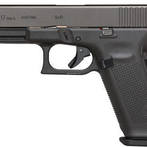 Glock G17 Gen5 9X19mm, GNS Sights, Black Color