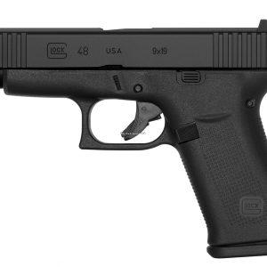 Glock G48 9x19mm, 4.17″ Barrel, FXD Sight, Black