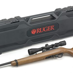 Ruger 10/22 Wood Scope Combo