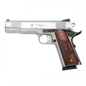 Smith & Wesson SW1911 45 ACP. Stainless Steel, 8 Shot