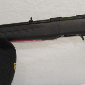 Ruger American Standard Rimfire, Bolt Actions, Black Synthetic Stocks, 22″ Blued Barrels