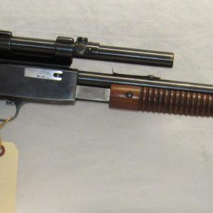 FN Browning Trombone, 22LR, Pump Action, c/w Weaver B4 Scope & Mounts (SOLD)