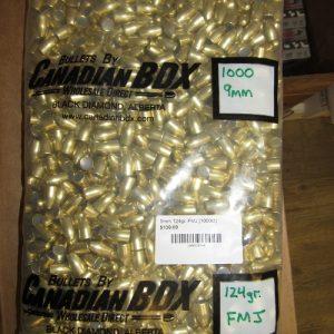 9mm / .355 dia. Pistol Bullets
