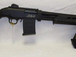 Hunt Group MHP-12 12ga. 3″ Pump Action Clip Fed. 24″ Rifle Sight Barrel, (N.I.B.)