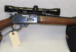 Marlin 336 Lever Action, 30-30 Win. 20″ Barrel, Walnut Stock, Scoped (USED) (SOLD)