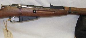 Keystone 91/30 Mini Mosin Nagant, 22Cal Single Shot, Full Wood Stock, N.I.B.