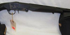 Lazer XT-2 12ga. 3″ Single Shot, 28″ Vented Rib Barrel, Black Synthetic Stock. Hammerless, N.I.B.